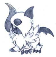 Mega-Absol by ZymonasYH