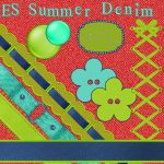ES Summer Denim Bright, pt2 by Shine70