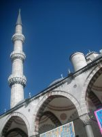 Sultan Ahmed Mosque 2 by Eslam