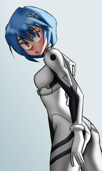 Ayanami Rei 2 by Dingoo