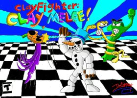 Clay Fighter: Clay Melee by maniacaldude