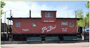 """SLSF """"Frisco"""" caboose by SMT-Images"""