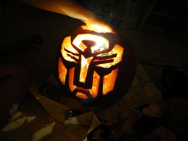 Transformers Pumpkin Carving by goe5