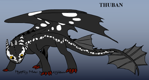 Thuban the Bright Fury by alexaAnime1