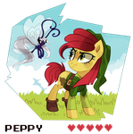 The legend of peppy by pepooni