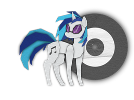 Vinyl Sctratch cutout by KaoKay
