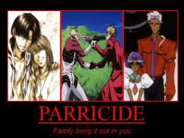 Parricide Demotivational by ddraigcoch