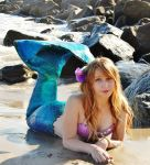 My first Latex Mermaid Fin by pixi996