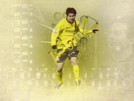 Messi WallPack - 3D Flow by UntouchedDesigns
