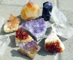 My Crystals by LWaite