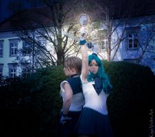 Uranus and Neptune 2 by kiyaviolet