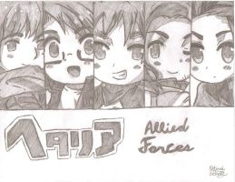 Allied Forces by AnimePortraits