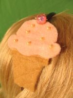 SOLD Ice Cream Headband by Ringo-Chu