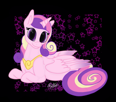 Princess Dawn..err Cadence by SheilaMonster