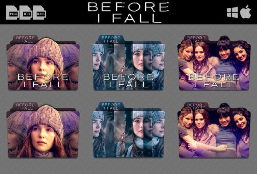 Before I Fall (2017) Movie Folder Icon Pack by DhrisJ