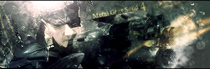 Metal Gear Solid 4 Sig by TheAceOverlord