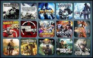 Game Aicon Pack 23 by HarryBana
