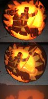 Crusader Pumpkin by Theophilia