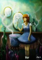 The Potion girl by Allisha-V