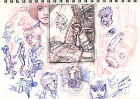 Sketchbook 2 by DylanTeague