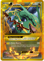31 Mega Rayquaza EX by Munchdule