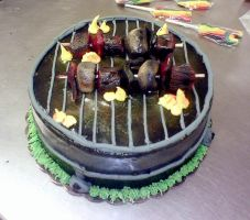 BBQ Cake 2 by redhed66