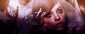 Late || Signature by gotasecret-xx