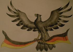 German eagle by Sourene