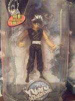 Hiei action Figure by HieiSQueen