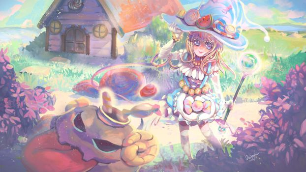 Candy Witch Lux by rozemira