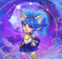Star Guardian Poppy (1/2) by KittyCouch