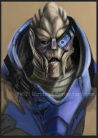 Garrus WIP by Key-Feathers