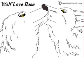 Wolf Love Base by AshWolf-Forever