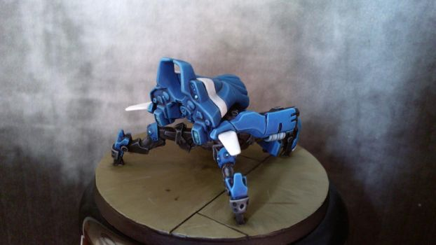 Infinity - PanOceania Armbot with Spitfire by Reallybigfish