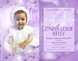 Christening Invitation Template by AnotherBcreation