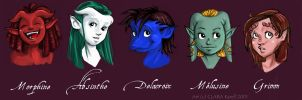 Clan of Paris Babies by coda-leia
