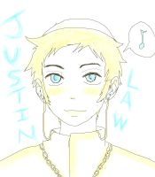 Justin Law by GrimathyGunn