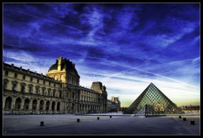 The Louvre by lomoboy