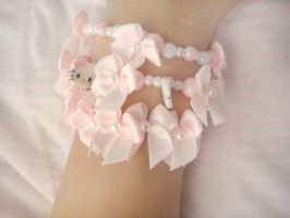 Hello Kitty Bracelets by ElizabethKathryn