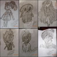 Collage hora de aventura chibi y anime by 1987arevalo
