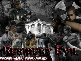 Resident evil by ArcanaHunkCamreKaenz