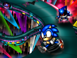 Stardust Speedway Chase by spdy4
