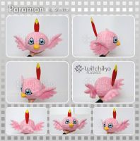 Poromon plush:::: by Witchiko