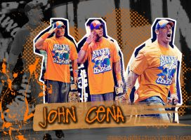 John Cena Wallpaper by MurderedMuffins