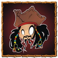 Heads Up Capn Jack Sparrow by HeadsUpStudios