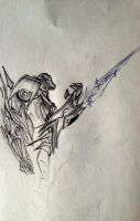 ( Quick sketch) Vehicon with Protoss technology by Ceft