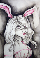 The White Rabbit by Shades-ofGray