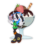 Comm. Food Sticker. Nina by 13VOin
