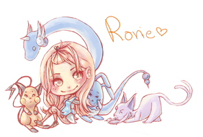 Rorie chibi by SunSweetened