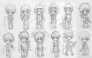FR: Banded in Chibi by teiteika